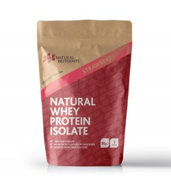 Natural Whey Protein Isolate - 30g