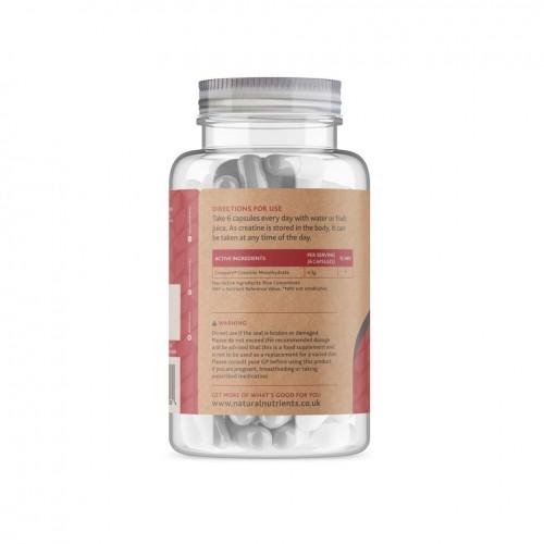 Creatine Monohydrate - 180 Capsules