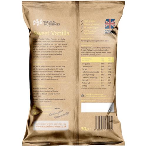 Protein Popcorn – Sweet Vanilla